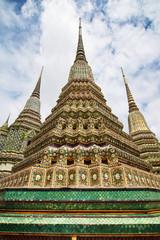 Phra Maha Chedi Si Rajakarn at Wat Pho in Bangkok
