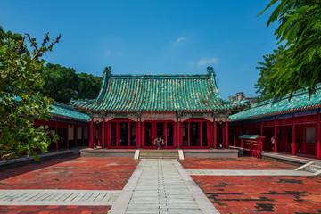 The Confucius temple in Tainan, Taiwan.