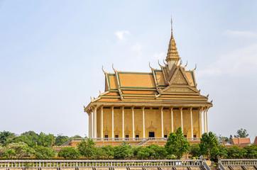 Main temple in the Vipassana Dhura Buddhist Meditation Center in Oudong