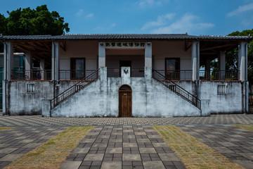 Building at the Tainan Fort Zeelandia in Tainan, Taiwan.