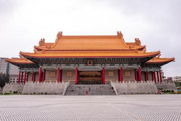 The Kai-Shek Memorial Hall in Taipei, Taiwan.