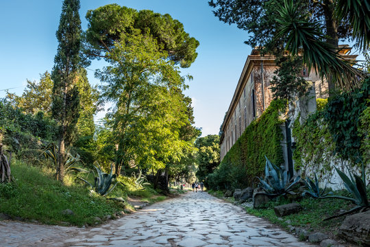 The Appian way, Via Appia Antice