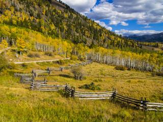 Million Dollar Road in Autumn Colors