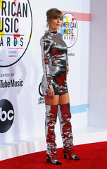 2018 American Music Awards– Arrivals – Los Angeles, California, U.S.