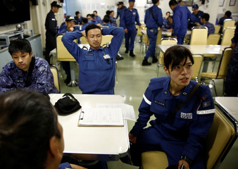 The Wider Image: Japan's women sailors on frontline of gender equality