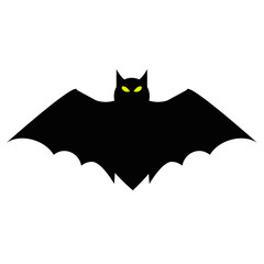 Halloween Flying Bat with Wings and Glowing Eyes