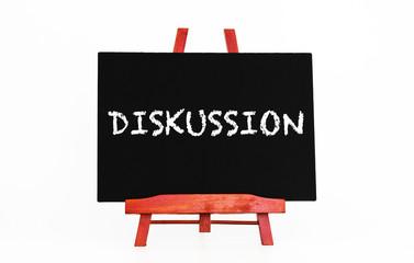 Diskussion Tafel Kreideschrift