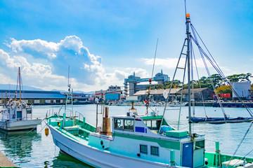 静岡県沼津市 沼津港の風景
