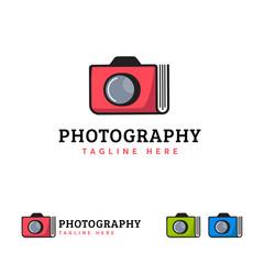 Photo Book Album logo designs vector, Photography logo designs concept vector