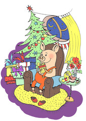 Lucky Pig.