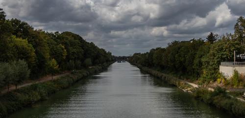 Mittellandkanal Panoramablick