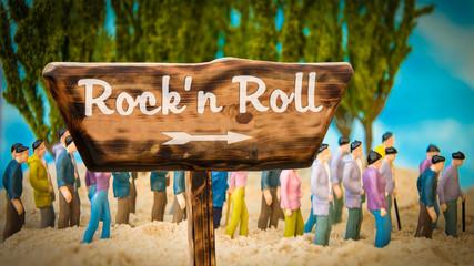 Schild 365 - Rockn Roll