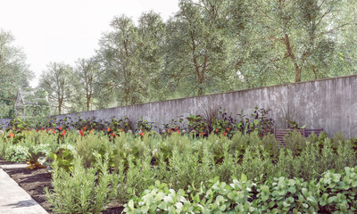 Organic Garden - Sustainable, Preservation of Nature