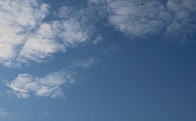 Cielo e nuvole in Autunno