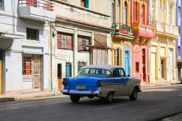 Havana, Oldtown, Streetlife, Old car