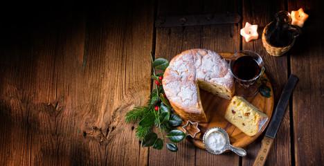 a delicious genuine Italian mum Christmas panettone