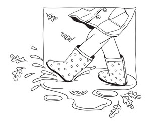 Puddle Stock Photos And Royalty Free Images Vectors And