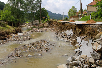 River Destruction Floods
