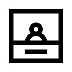 Account User Image Gui Web vector icon