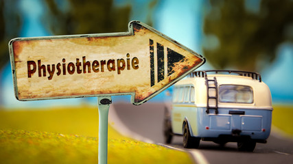 Schild 348 - Physiotherapie