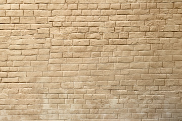 Ancient brick wall of the russian medieval Joseph-Volotsky monastery
