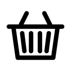 Basket Ecommerce Shopping Buy Sale Market vector icon