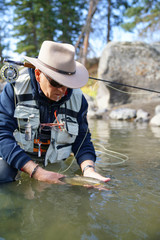 trout Cutthroat, fly fishing