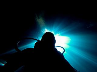 scuba diving at devils den florida