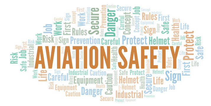 Aviation Safety word cloud.