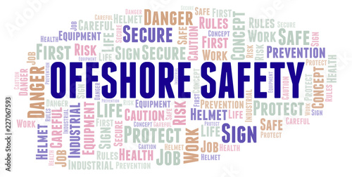 Offshore Safety word cloud