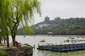 The famous Summer Imperial Palace in Beijing, China