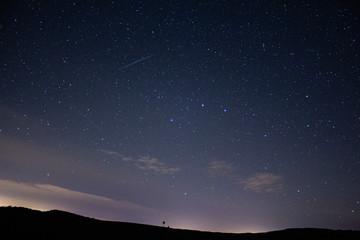 Stars in the sky in Ireland