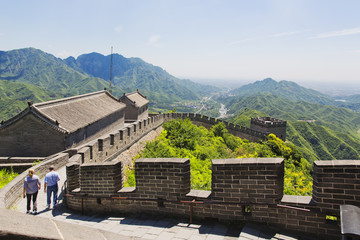 The famous Great Wall of China