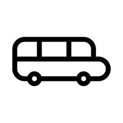 Bus School Education Learning University vector icon