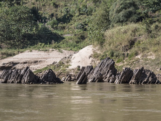 Rocks in the Mekong