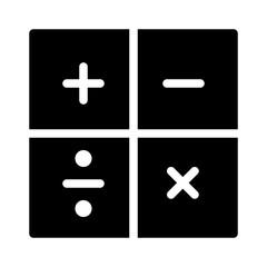 Calculations Finance Money Cash Bank vector icon