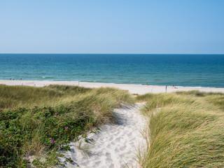 Strandweg ans Meer