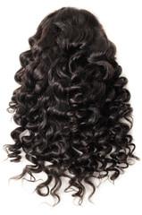 loose curly black human hair weaves wigs