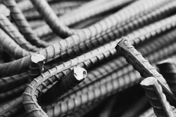Reinforcing Steel Bar or rebar steel for concrete construction work