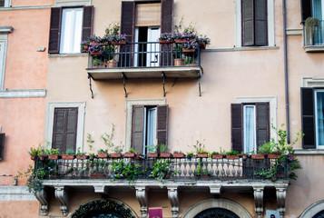 Rustic building in Italy