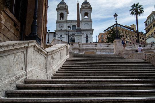 Steps in Rome