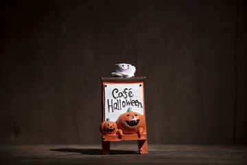 Art picture of Halloween concept