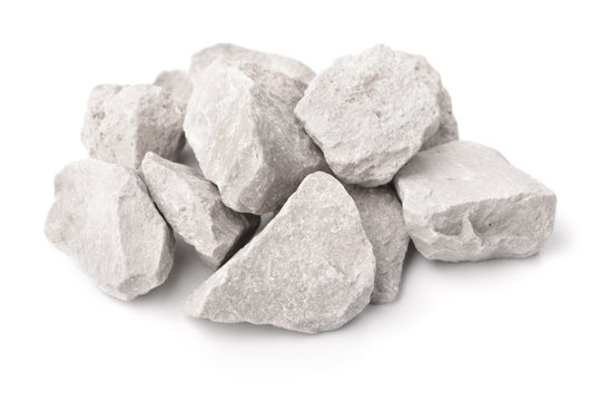 Crushed marble stones