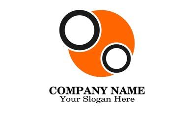 Unique logo design circle