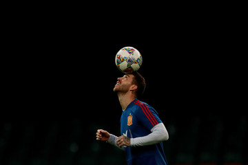 International Friendly - Spain Training