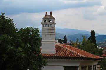 Turkey / Muğla / Milas'ta eski bir baca