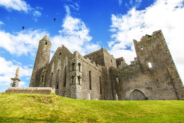 Old Irish castle, Rock of Cashel