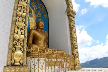 Translation: the main stupa of the World Peace Pagoda