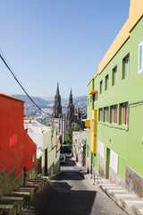 Old town in Gran Canaria