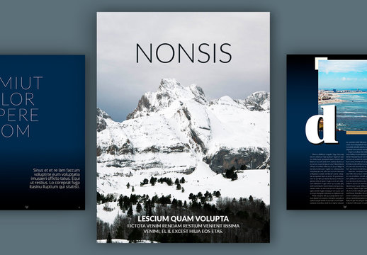 Modern Digital Magazine Layout